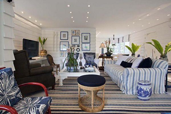1000+ Ideas About Nautical Living Room Furniture On Pinterest