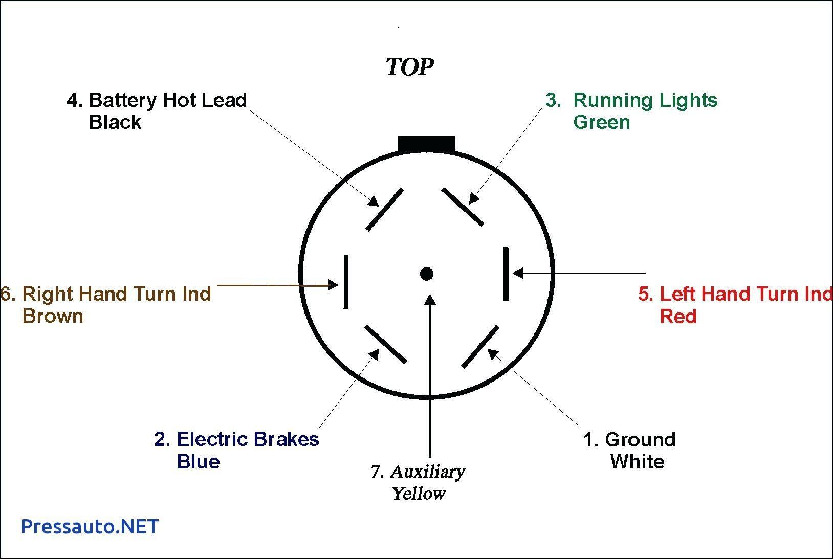 Wiring Diagram 7 Pin Trailer Plug