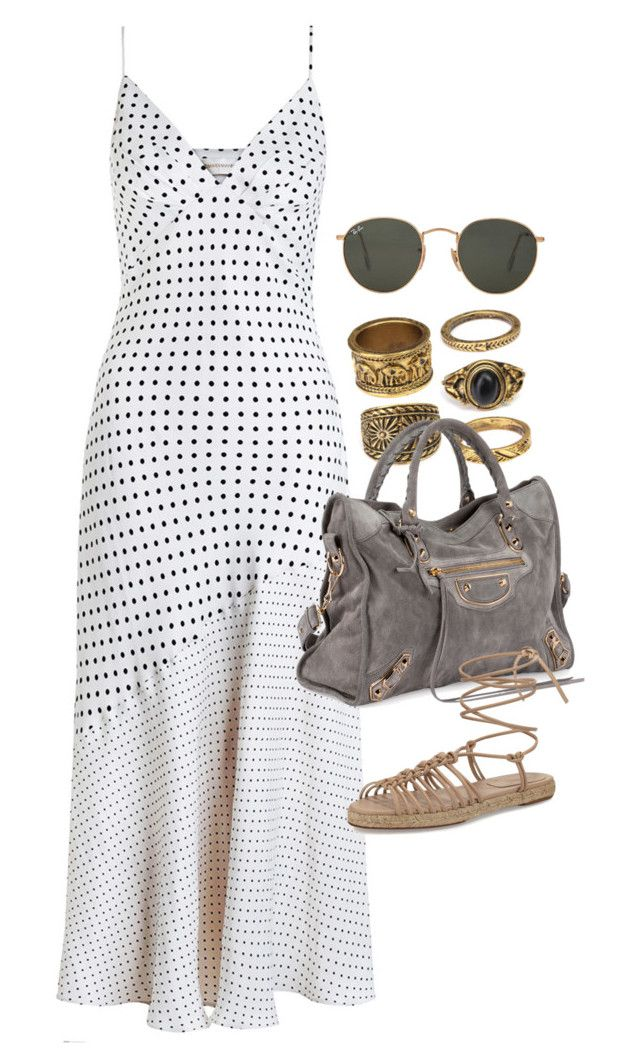 """""""Untitled #3211"""" by erinforde ❤ liked on Polyvore featuring Zimmermann, Balenciaga, Chloé and Ray-Ban"""