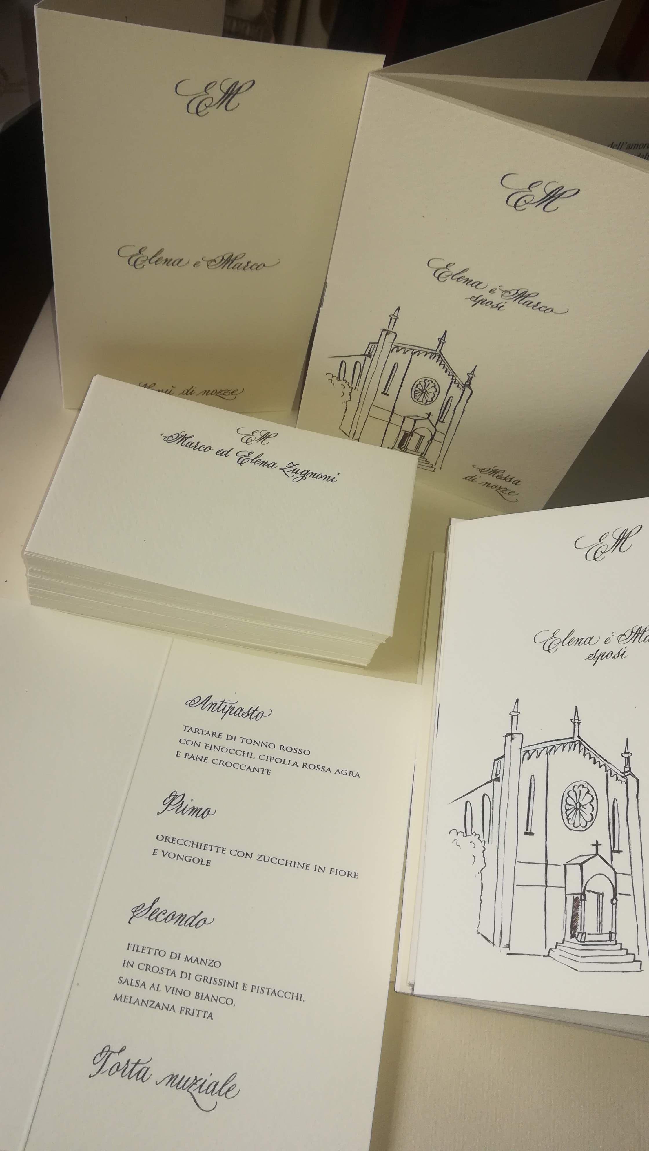 Segnaposto Matrimonio Inglese.Wedding Stationery Calligrafica Decorazioni Uniche Ed Esclusive