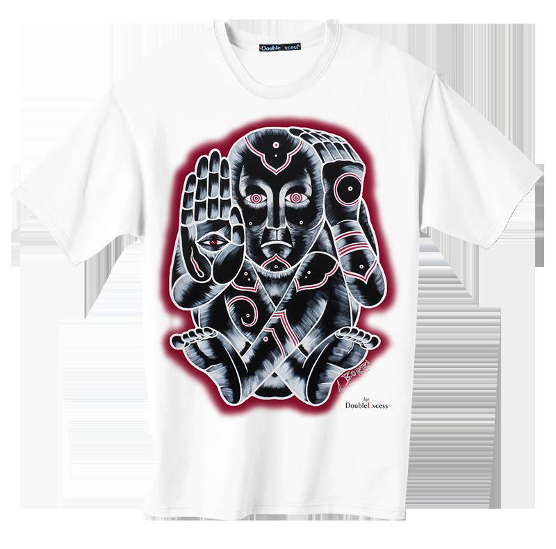 BORRI - QUELLO CHE VEDO - T-Artist Collection - Author T-Shirt #doubleexcess #leonardoborri #borri #artist #art #artfashion #fashion #workofart  #tshirt #tee #menstshirt #mensclothing #menswear #alternativetshirt #alternative #underground #street #streetwear #streetart #madeinprato #madeinitaly