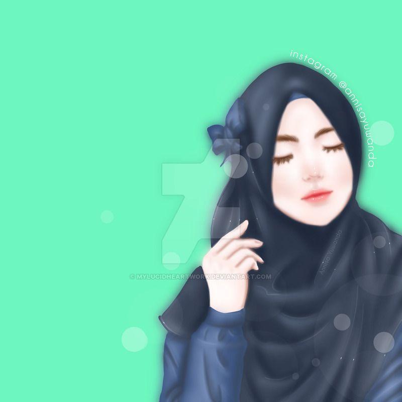Beautiful Muslimah Hijab Girl 21 By Mylucidheartwork Deviantart Com On Deviantart Girls 21st Islamic Girl Hijab