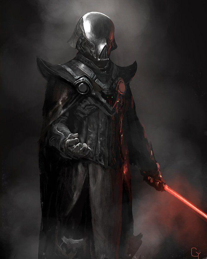 Reimaginando O Darth Vader (23 Ilustrações) – Bluw