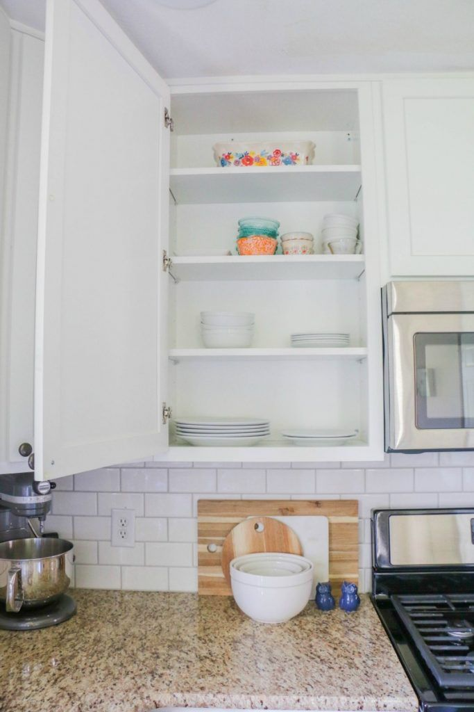How To Line Your Kitchen Cabinets