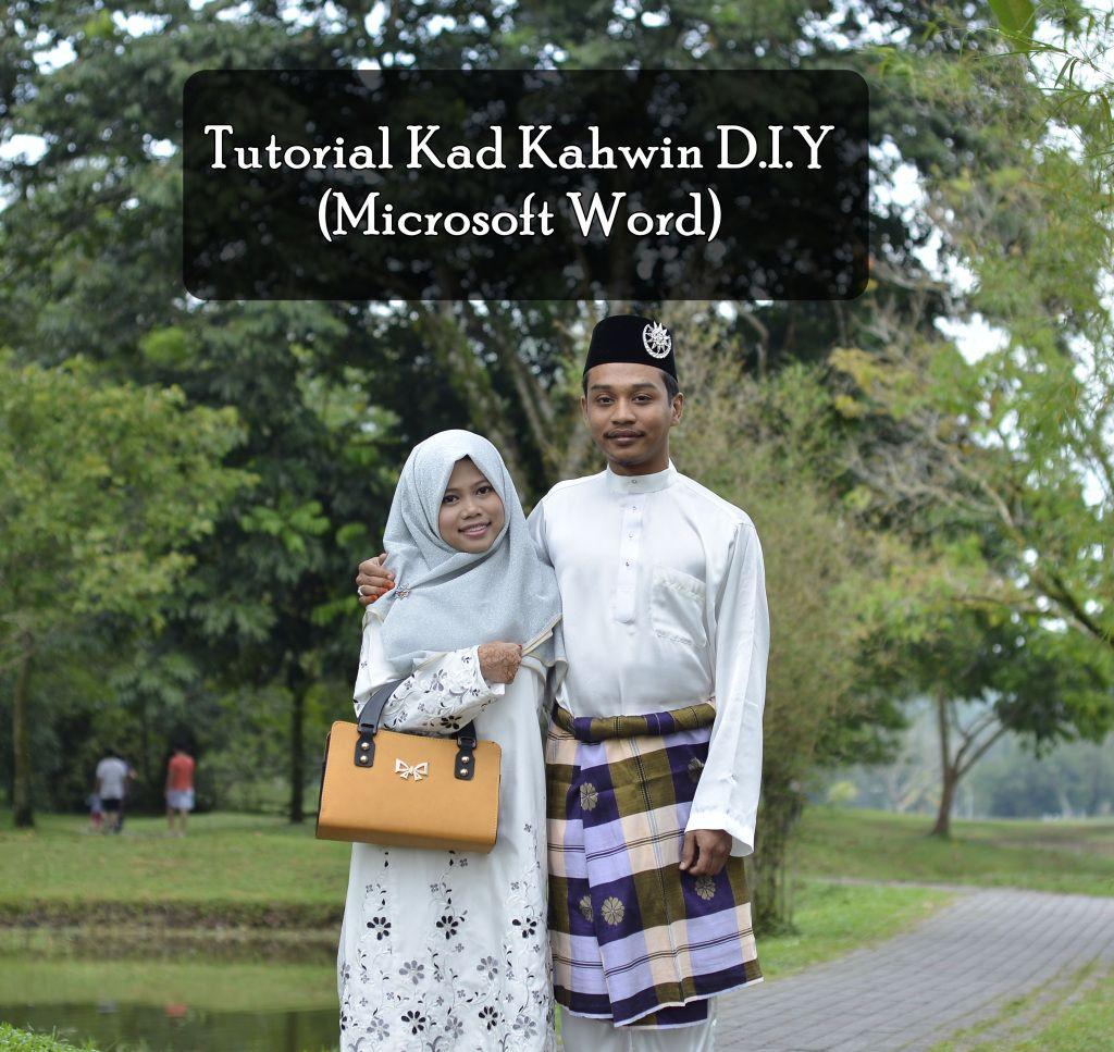 Kad Kahwin Diy Microsoft Word Microsoft Belajar Pengikut
