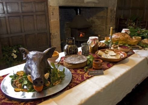 Image result for images of tudor christmas table