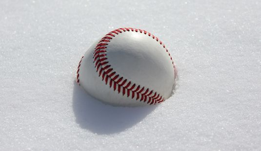 Image result for Snow baseball picture