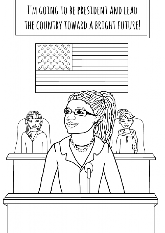 The Feminist Coloring Book You Ve Always Dreamt Of Is Finally Here Coloring Books Feminist Kids Coloring Pages