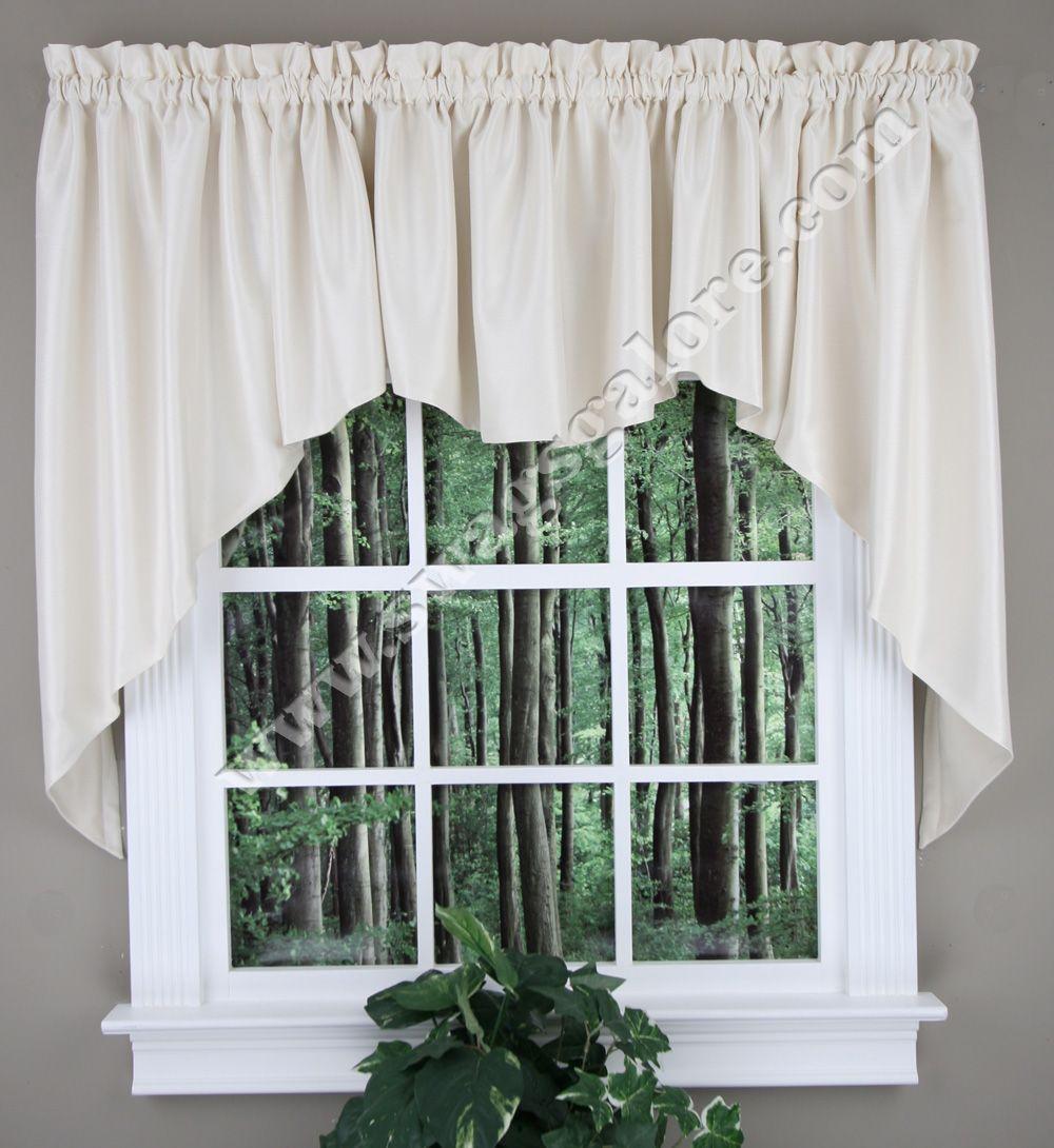Pin On Jabot Swag Kitchen Curtains