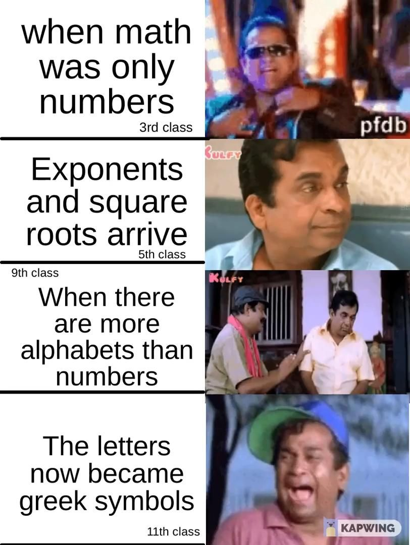 School humor and meme