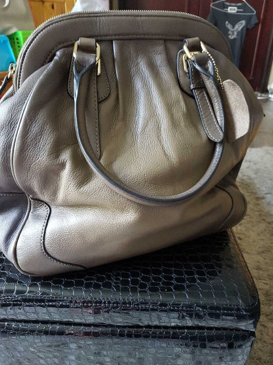 Danier Leather Ombre Handbag