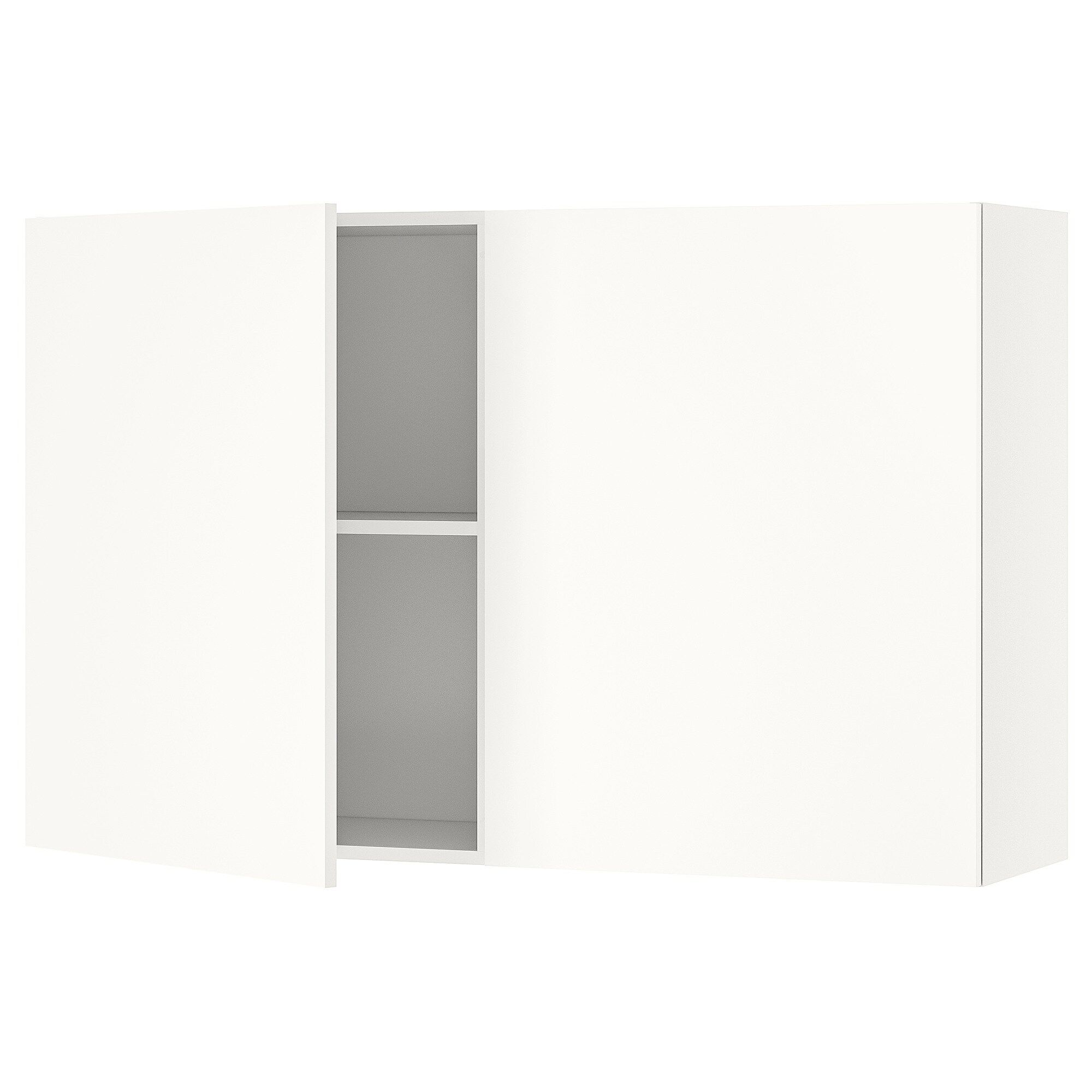 Knoxhult Wandschrank Mit Turen Weiss Ikea Deutschland In 2020 Wandschrank Schrankturen Weisse Turen