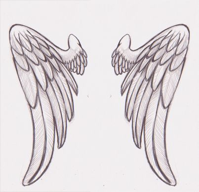 angel wings tattoo idea My Style Pinterest Angel - angels templates free