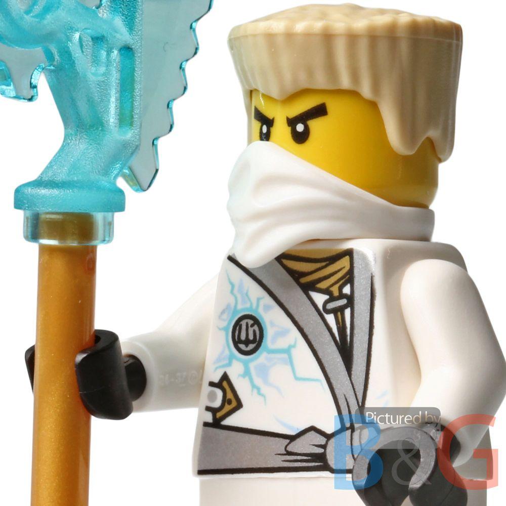 lego ninjago rebooted zane w techno blade from set 70726