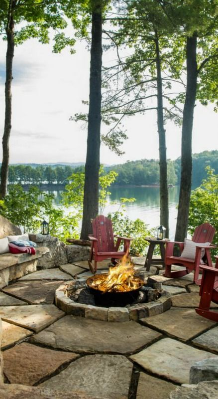 Lakehouse Gathering Debbie Orcutt Outdoor Living Pinterest Lakes House And Cabin