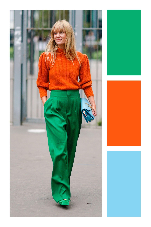 8 Maneras De Combinar Verde Tizkkamoda Comocombinar Verde Green Combinar Cores Color Fashion Style