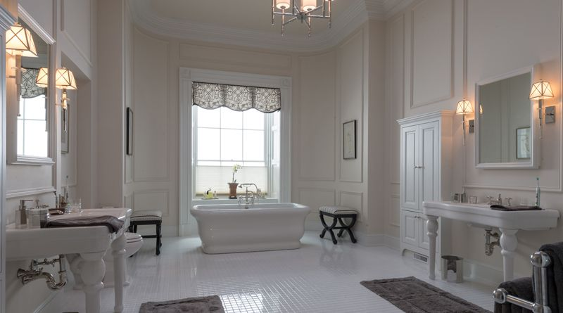 white house bathroom house of cards style decor