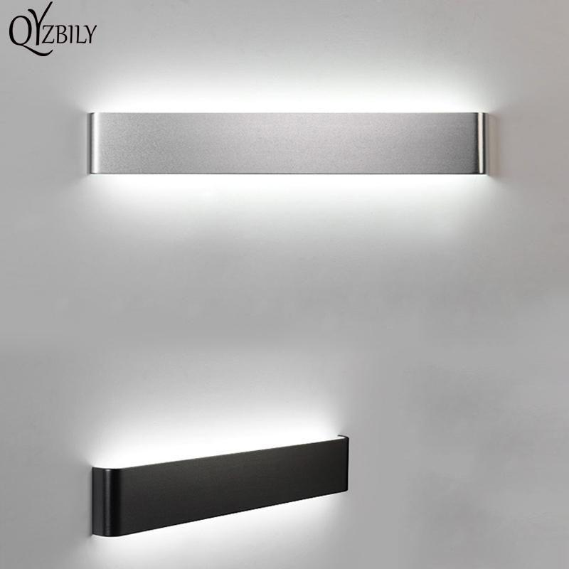LED Wall Lamp Aluminum Wall Light For Living Room Bathroom