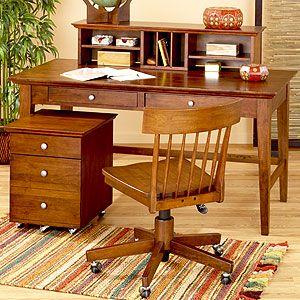 World Market Mahogany Konrad Desk