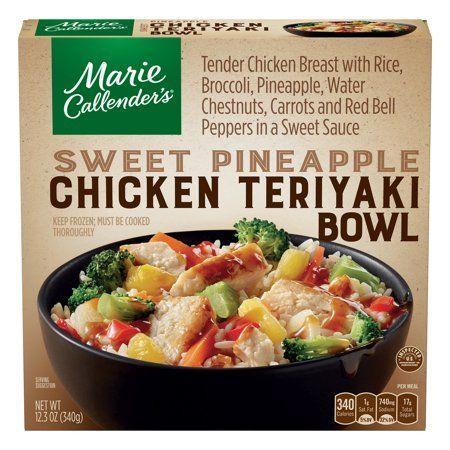 Marie Callenders gefrorenes Essen, süße Ananas-Hühnchen-Teriyaki-Schüssel, 12,3 Unzen - Walmart.com#ananashühnchenteriyakischüssel #callenders #essen #gefrorenes #marie #süße #unzen #walmartcom