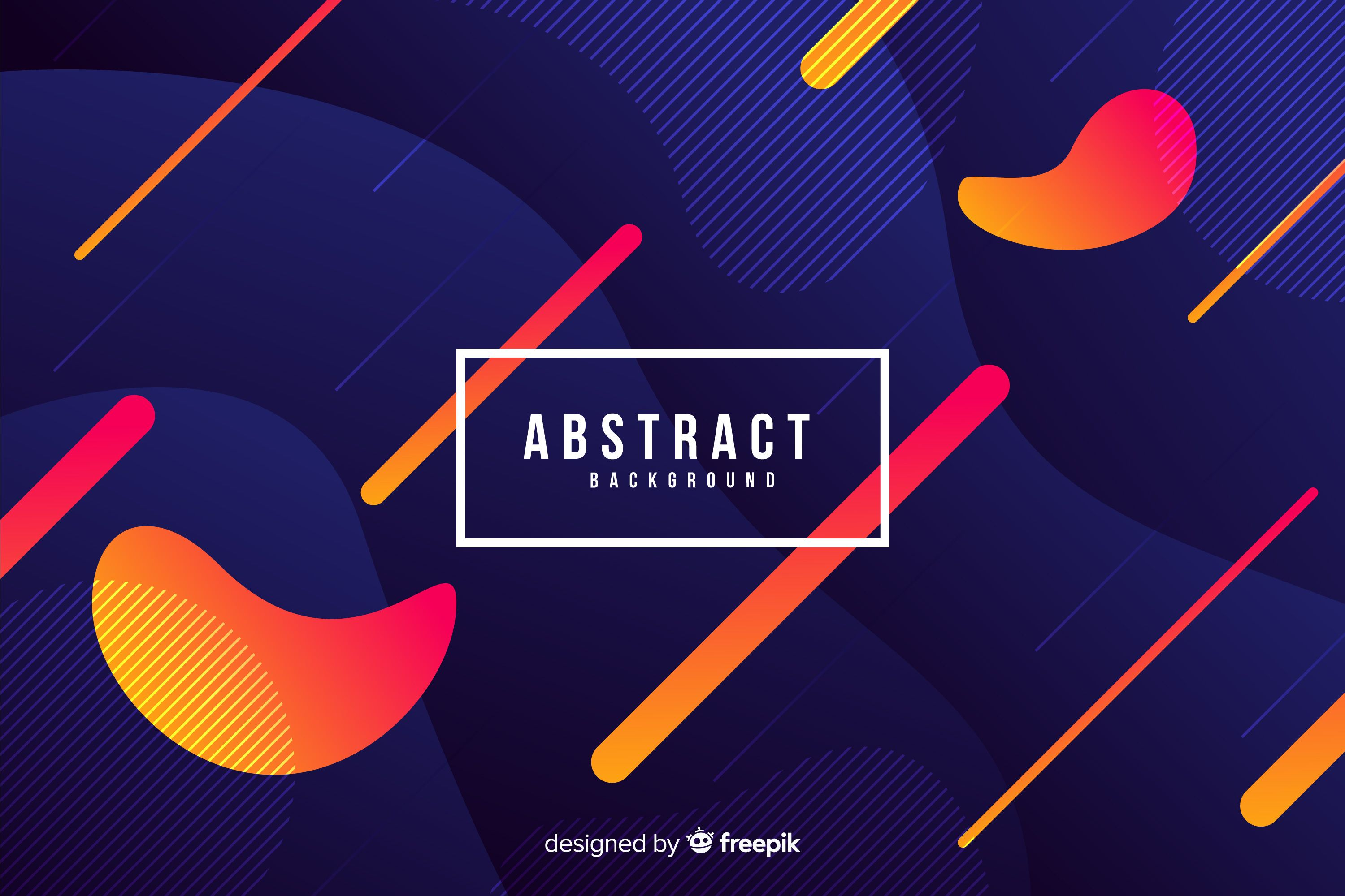 Download Modern Background Of Abstract Shapes for free