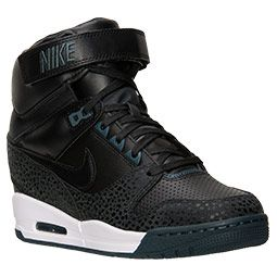huge discount 8e805 1a581 Time to get a new pair of Nikes! Women s Nike Air Revolution Sky Hi Casual  Shoes   FinishLine.com
