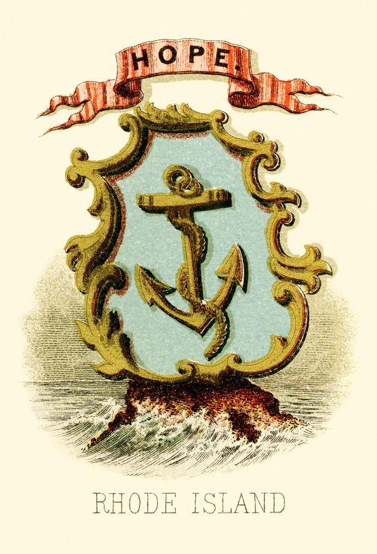 Rhode Island State Coat Of Arms Httpsstatesymbolsusa