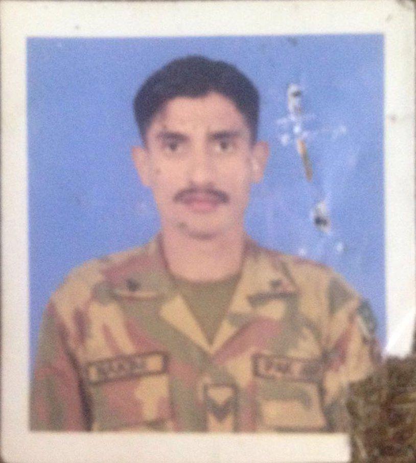 Hav Hakim Shaheed Paks Army Baseball Cards