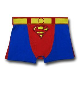 Mens Marvel Superman Character Boxer Short Trunk Underwear S-XL