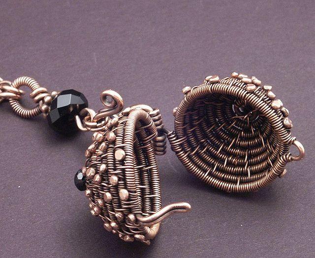 Woven Copper Ball