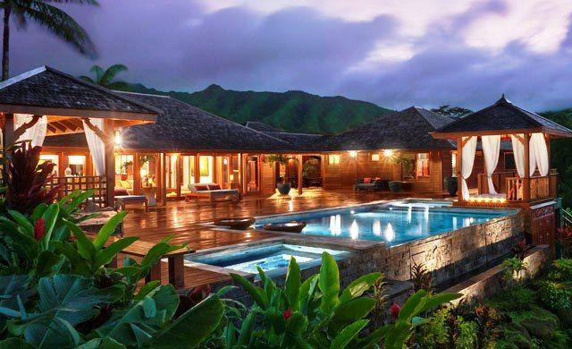 Natural Resort Style Home Design Inspiration, Tropical Home Design Ideas