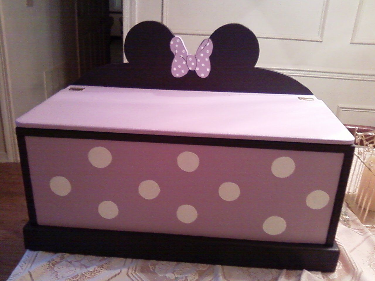 Toy box I did for a special friends grandbaby.