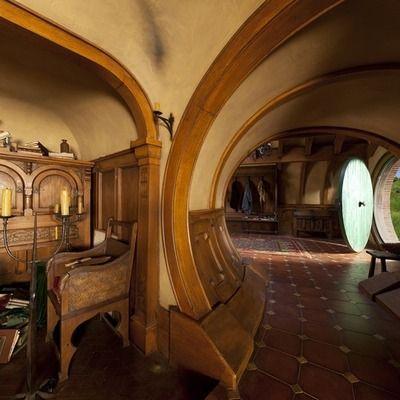 Erdhaus Innen hobbit house homie hobbithöhle hobbit häuser und