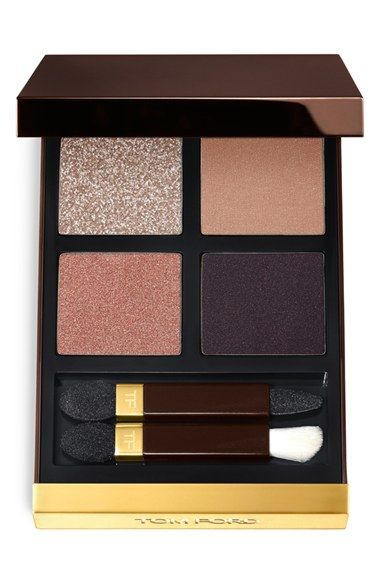 Free shipping and returns on Tom Ford Eyeshadow Quad at Nordstrom.com. Tom Ford eyeshadow quad features four complementary shades that give you a range of looks from bold to smoky, or sexy to subtle. Each features four different finishes too, from a sheer sparkle to a satin to a shimmer to a matte so you can wear each alone or mix and match for an unforgettable look.