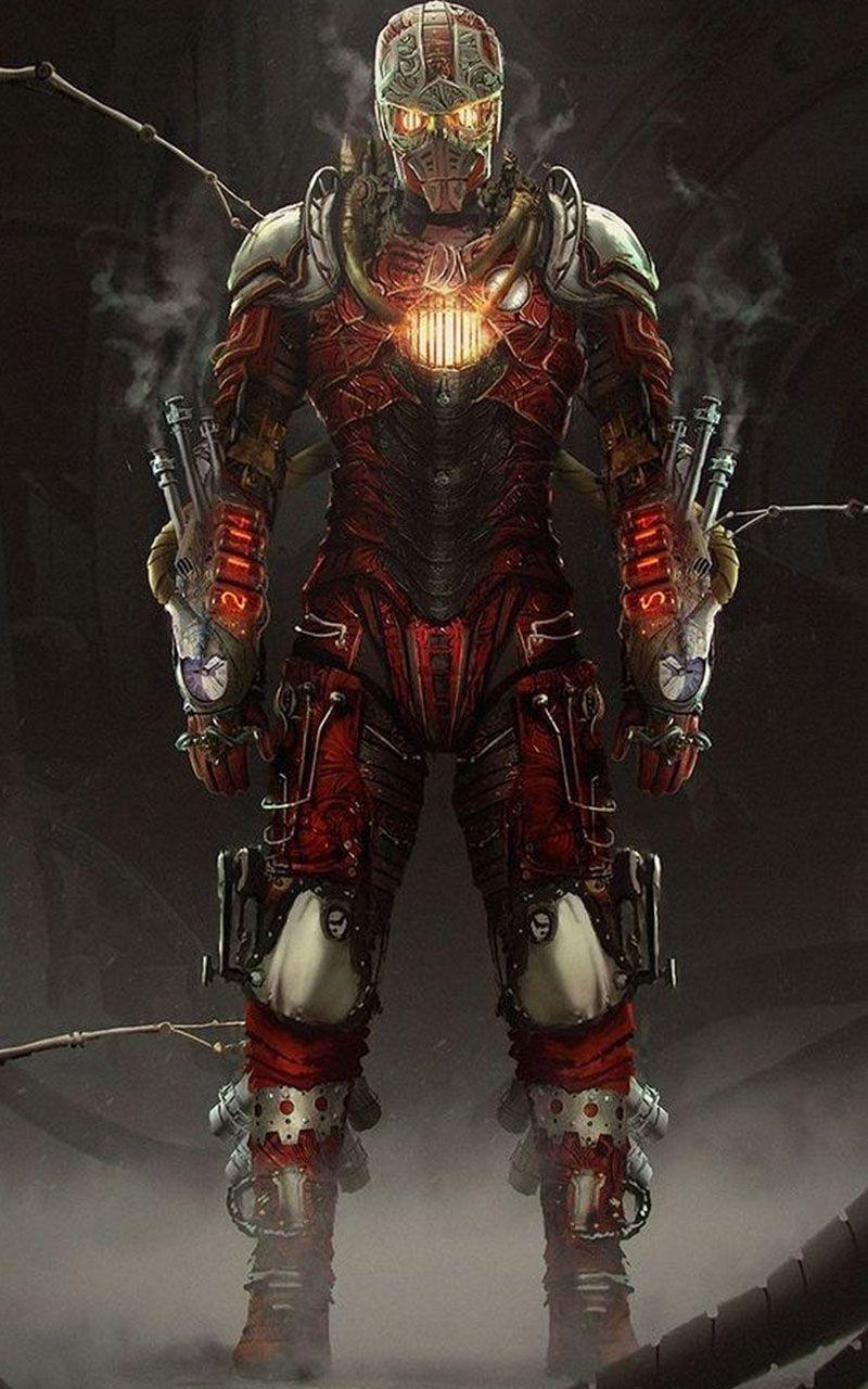 Steampunk Iron Man : steampunk, Wallpaper, Steampunk, Armor