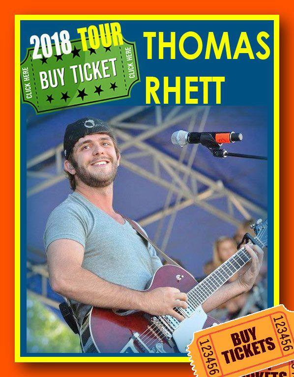 Thomas rhett tour dates