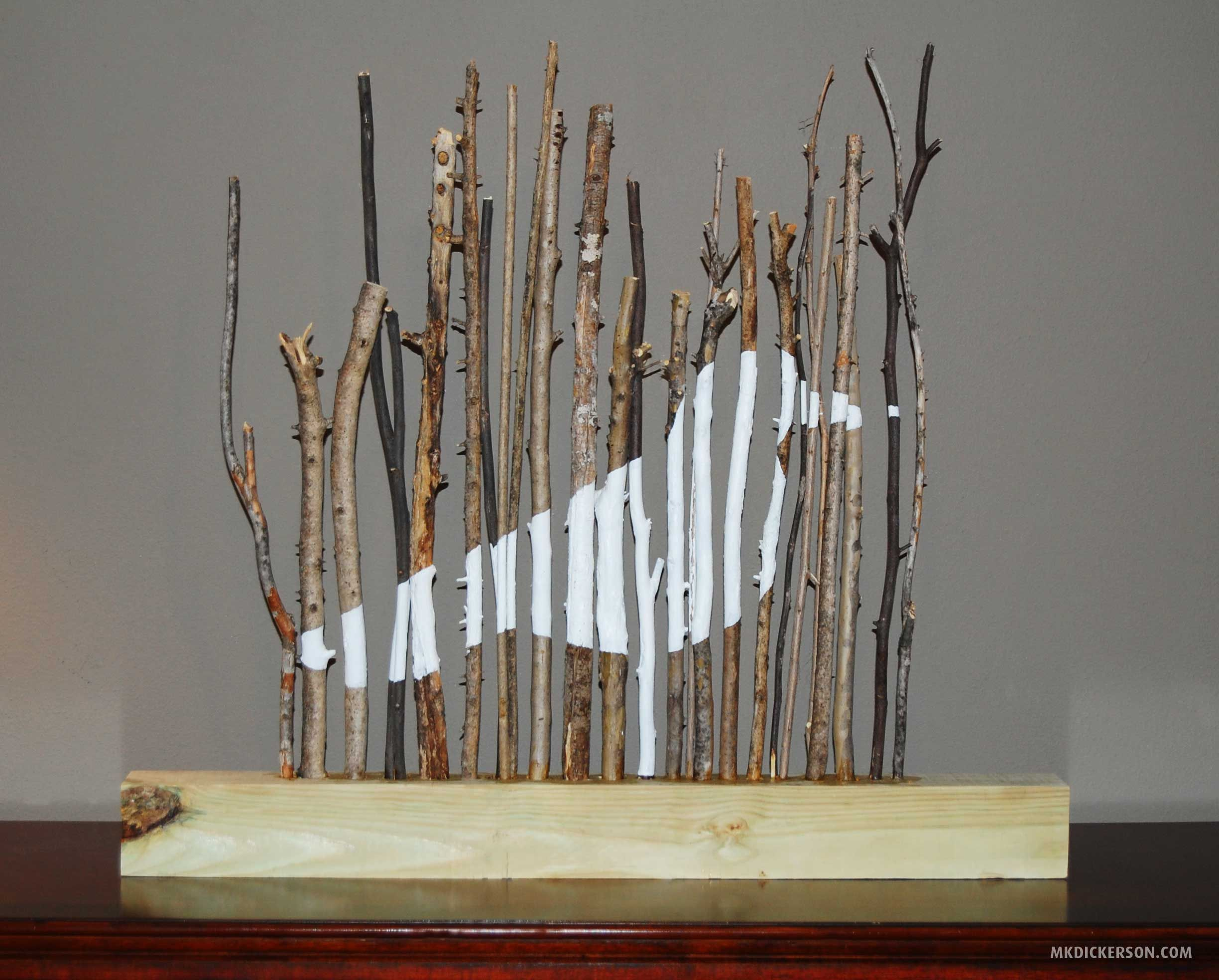 Tree branches for crafts - Find This Pin And More On Art Stuff Kind Of Cool Tree Branch Art