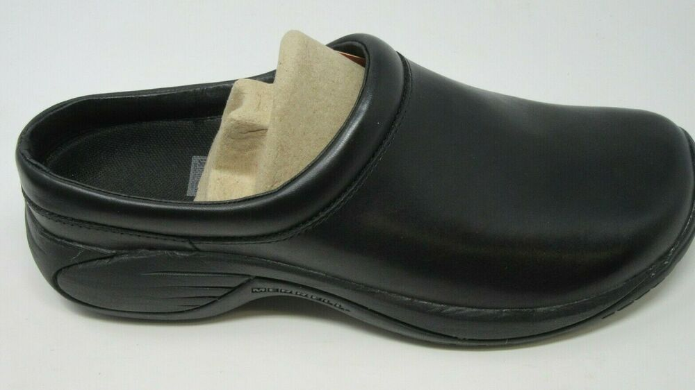 That stationery eruption  MERRELL MENS ENCORE GUST SMOOTH BLACK SLIP-ON CLOGS SHOES SIZE 8/M, J66171 # Merrell #SlipOn | Black slip ons, Clogs shoes, Clogs