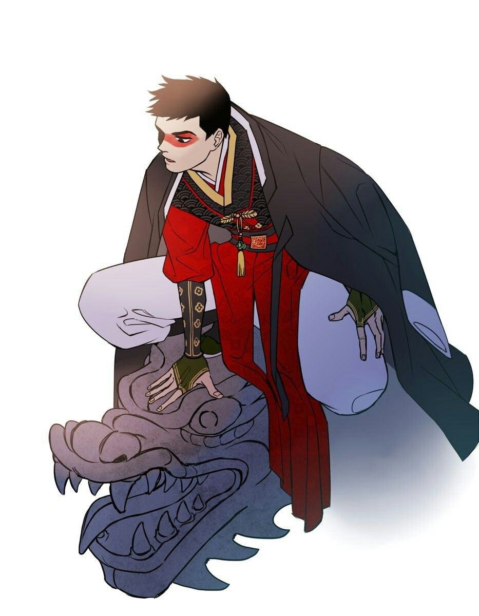Red Robin traditional korean style credit to artist