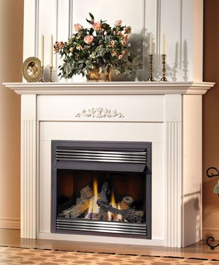 Napoleonu0027s GVF36 Is A Small Vent Free Fireplace That Can Fit Into About Any  Room.