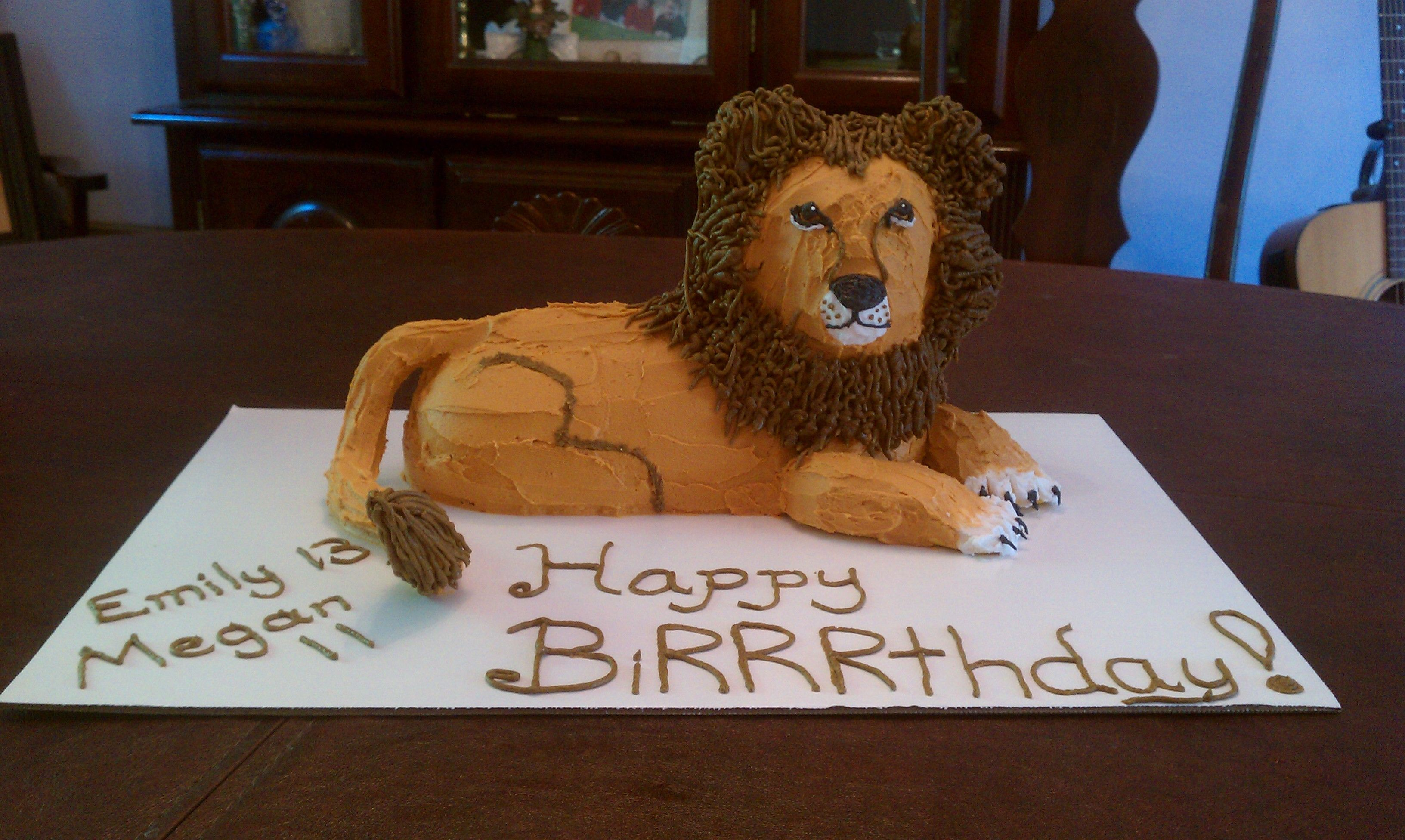 Turning A Lamb Into A Lion Birthday Cake Ideas Lamb
