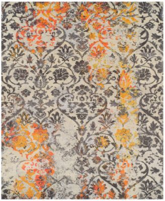 Living Room Rug Dalyn Neo Grey Damask Citron Area Rugs