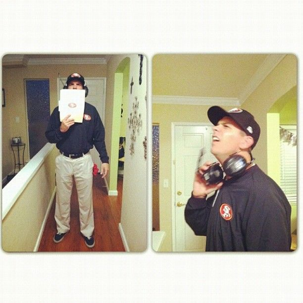 Jim Harbaugh costume... in a  kids  style for Bowen maybe? @Tori Alcala-Martini  sc 1 st  Pinterest & Jim Harbaugh costume... in a