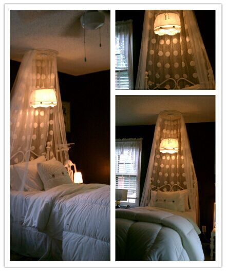Easy!!!!! Some Curtain Panels, Hanging Light From IKEA And