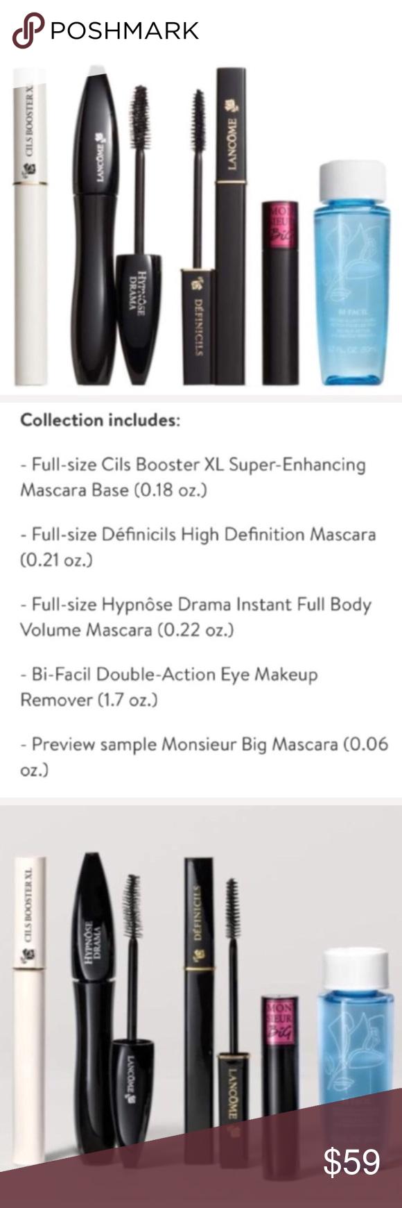 NEW!🦋Lancôme 5Pc Mascara Master Set. 🦋NEW!🦋Lancôme 5Pc