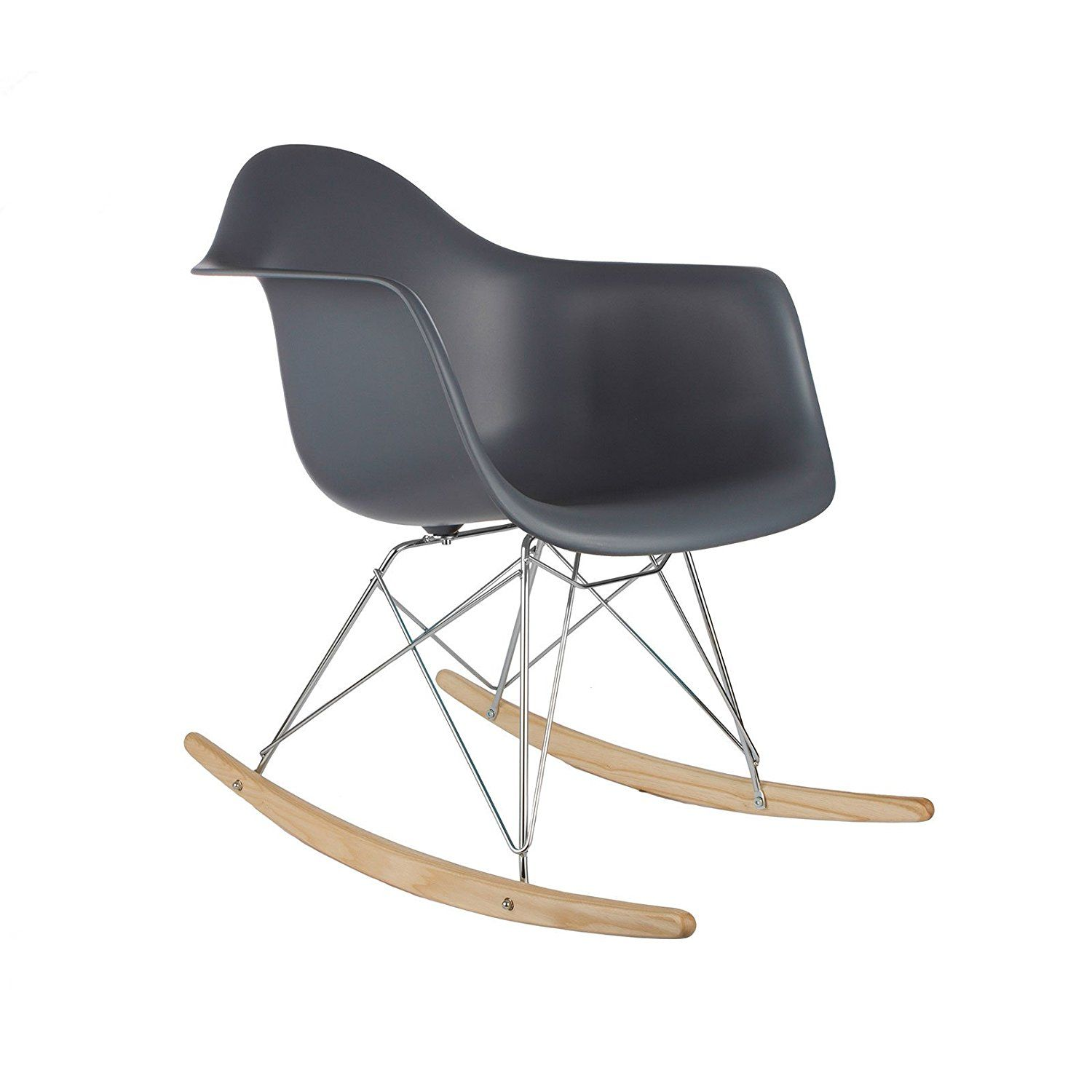 Unique Design Of Eames Style Rocking Chair Best Home Plans And