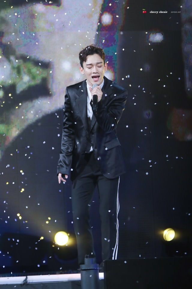 Chen 161101 Only them Pinterest Chen and Exo