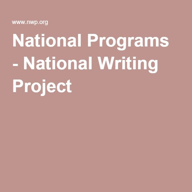 National Programs - National Writing Project