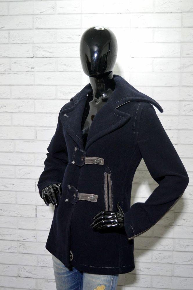 best cheap 6aa64 5cfe7 Giubbotto Cappotto Donna MURPHY & NYE Taglia S Blu Scuro ...