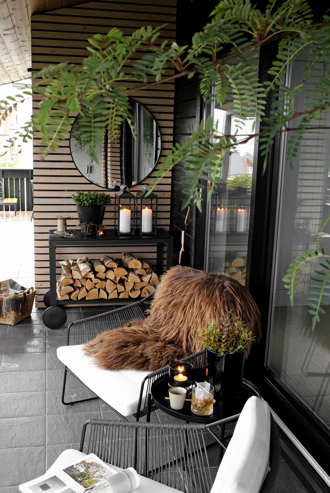 Balkon Inrichting September Sunday At The Terrace Dekorasyon Outdoor Rooms Home